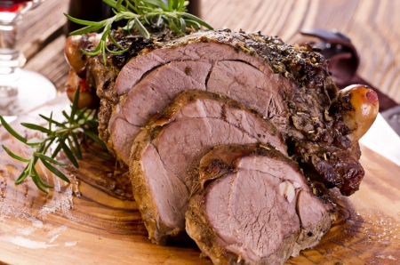 Easy Leg of Lamb