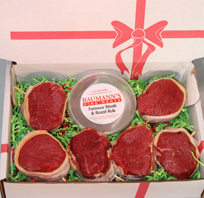 6 - 6oz Filet Mignon Steak Box